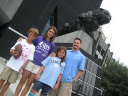 The Panthers at Bank of America Stadium