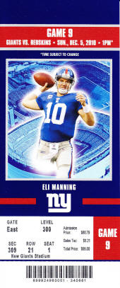 Buy Cheap New York Giants Tickets Here