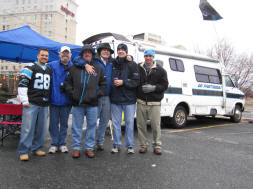 Carolina Panthers Tailgating at Bank of America Stadium