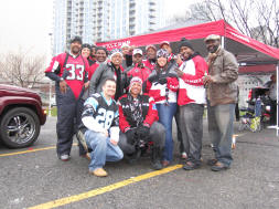 Falcons Fans Flocked in Droves