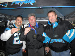 Shot Time at Bank of America Stadium