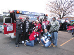 Falcons Tailgate Rescue