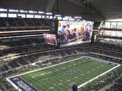 Dallas Cowboys Stadium Scoreboard - 70 feet x 160 feet