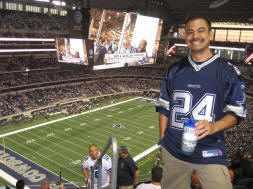 Cowboys Stadium - that scoreboard is massive