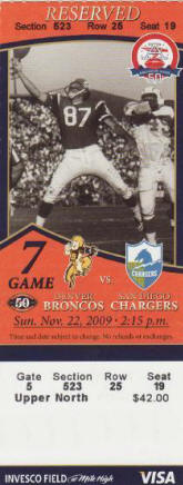 Buy Cheap Denver Broncos Tickets Here
