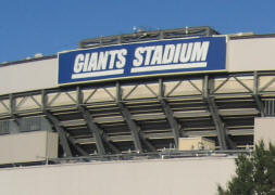 Giants Stadium in the Meadowlands