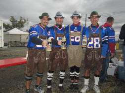 Buffalo Bills OktoBILLSfest - Lederhosen with Trachten, Loferl 2 piece Socks