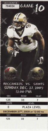 Buy Cheap New Orleans Saints Tickets Here