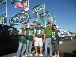 The Fellas from Jets Tailgate Lot 5A