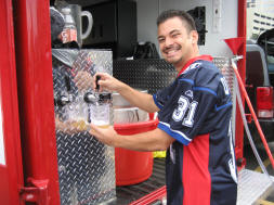 Tailgating with Quest for 31 - Beer on Tap